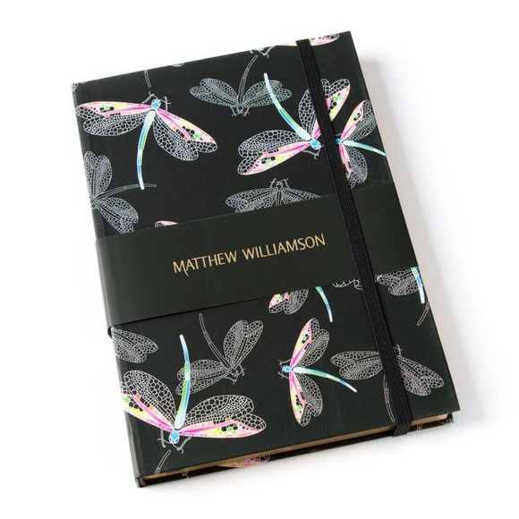 Matthew Williamson Other - Dragonfly Deluxe Journal
